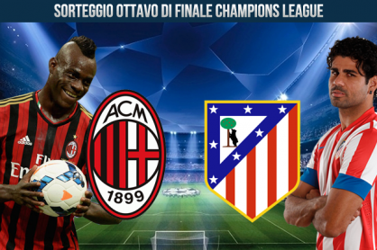 Atletico Madrid - Milan al Gallileo