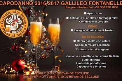 Capodanno al Gallileo Fontanelle