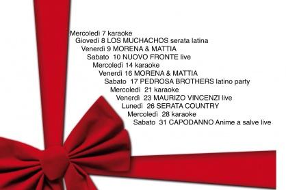 Il programma di dicembre al Gallileo di Volpago