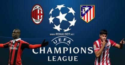Milan – Atletico Madrid al Gallileo