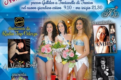 Miss Blue Star Europe al Gallileo