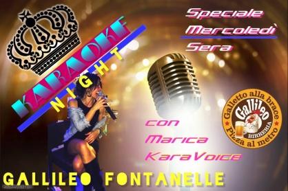Speciale mercoledì al Gallileo di Fontanelle